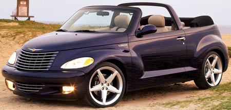 voiture de r ve chrysler chrysler pt cruiser 2 4 turbo. Black Bedroom Furniture Sets. Home Design Ideas